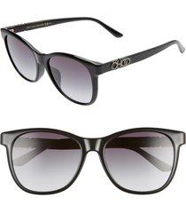 women's jimmy choo june 56mm special fit sunglasses -