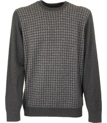 loro piana girocollo cashmere and silk sweater