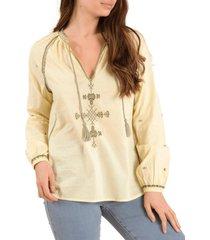blusa algodón orgánico rachel lima rockford