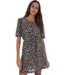 womens winner leopard print dress