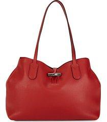 pebbled leather shoulder bag