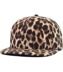 boné anth co animal print r marrom