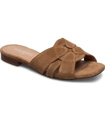 gin shoes summer shoes flat sandals brun pavement