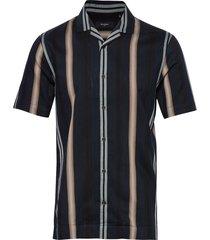 matrostol resort 2 overhemd met korte mouwen blauw matinique