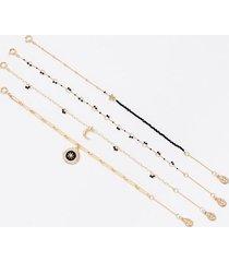 loft coin bracelet set