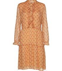 dress knälång klänning orange sofie schnoor