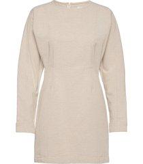 2nd josephine thinktwice kort klänning beige 2ndday