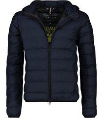 ecoalf asp jacket donkerblauw