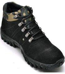 bota coturno adventure masculino top franca shoes