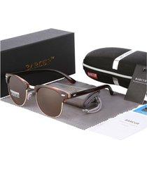 gafas lentes sol mujer ovaladas uv400 barcur 3016 café