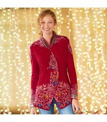 salzburg swing cardigan sweater