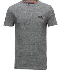 orange label vntge emb s/s tee t-shirts short-sleeved grå superdry