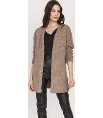 ciepły sweter - kardigan, swe127 mocca