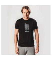 camiseta masculina manga curta degradê fiero slim fit