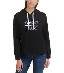 tommy jeans logo hoodie sweatshirt