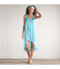 blue streak tank top dress