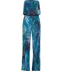 tuta elegante a fascia (blu) - bodyflirt boutique