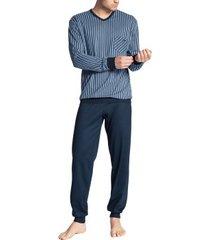 calida relax imprint pyjama with cuff * gratis verzending *