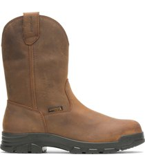 wolverine men's chainhand wellington brown, size 14 medium width