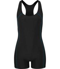 costume intero lungo ad asciugatura rapida (nero) - bpc bonprix collection