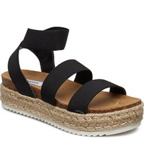 kimmie sandal sandaletter expadrilles låga svart steve madden