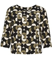 opus blouse met print falesha cheerful