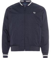 jaqueta masculina bomber - azul