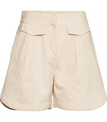 slfcecilie mw shorts b shorts flowy shorts/casual shorts beige selected femme