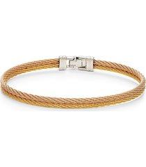 alor women's stainless steel cable bracelet