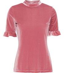 maglia in velluto (rosa) - bodyflirt boutique