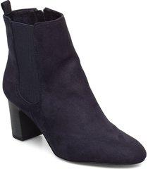 woms boots shoes boots ankle boots ankle boots with heel blå tamaris
