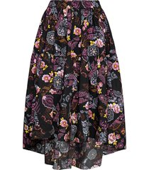 vitto knälång kjol svart mbym