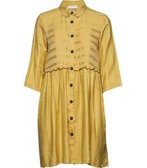 jerry short dress korte jurk geel storm & marie
