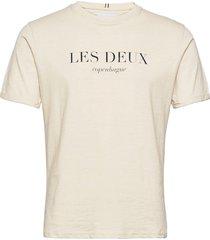 amalfi t-shirt t-shirts short-sleeved creme les deux