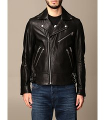 diesel jacket diesel leather jacket with zip