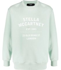 23 old bond street crewneck sweatshirt, pale mint