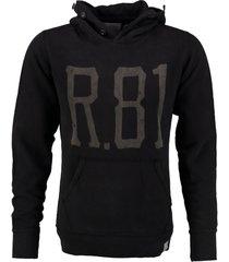 replay zwarte sweater hoodie