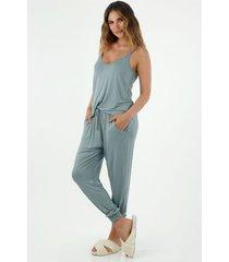 conjunto pijama para mujer tennis fondo entero