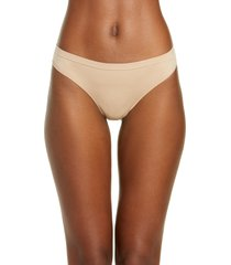 women's b.tempt'd by wacoal comfort intended daywear thong, size small - beige