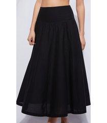 calzedonia bandeau skirt woman black size tu