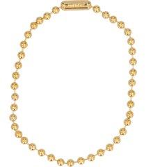 ambush ball chain short necklace