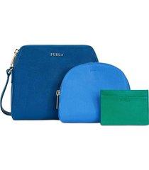 borsa a tracolla furla boheme 943603 blu pavoned+celestec+smeraldod