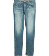 men's ag tellis slim fit jeans, size 42 x 34 - blue (nordstrom exclusive)