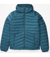 chaqueta highlander down hoody azul marmot