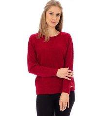 blusa básica de malha sumaré feminina - feminino
