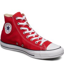 all star hi red höga sneakers röd converse