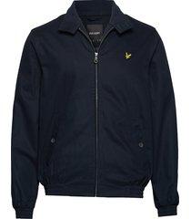 harrington jacket bomberjacka jacka blå lyle & scott