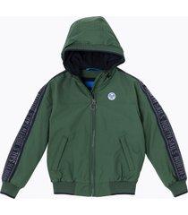 giacca sailor con cappuccio (rivisitato e eco-friendly)