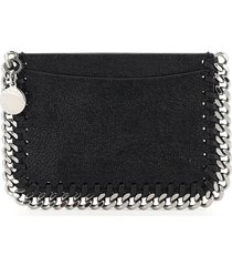 stella mccartney falabella card holder pouch
