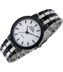 reloj negro montreal slim